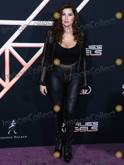 Trace Lysett Photo - WESTWOOD LOS ANGELES CALIFORNIA USA - NOVEMBER 11 Trace Lysette arrives at the Los Angeles Premiere Of Columbia Pictures Charlies Angels held at the Westwood Regency Theater on November 11 2019 in Westwood Los Angeles California United States (Photo by Xavier CollinImage Press Agency)