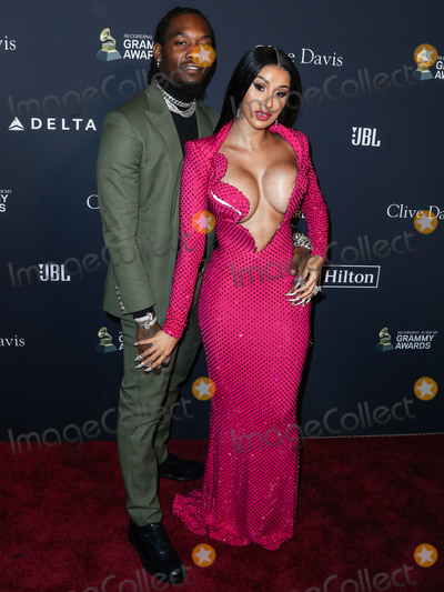 Clive Davis Photo - (FILE) Cardi B Files for Divorce from Offset After 3 Years of Marriage BEVERLY HILLS LOS ANGELES CALIFORNIA USA - JANUARY 25 Rapper Offset (Kiari Kendrell Cephus) and wiferapper Cardi B (Belcalis Marlenis Almanzar) arrive at The Recording Academy And Clive Davis 2020 Pre-GRAMMY Gala held at The Beverly Hilton Hotel on January 25 2020 in Beverly Hills Los Angeles California United States (Photo by Xavier CollinImage Press Agency)