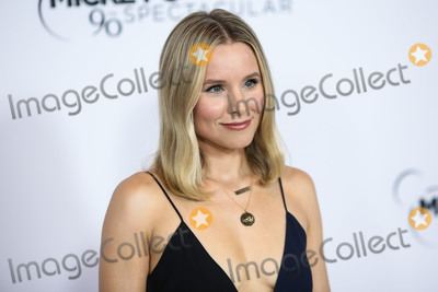 Kristen Bell Photo - LOS ANGELES CA USA - OCTOBER 06 Actress Kristen Bell wearing a Victoria Beckham dress and Jimmy Choo shoes arrives at Mickeys 90th Spectacular held at The Shrine Auditorium and Expo Hall on October 6 2018 in Los Angeles California United States (Photo by Xavier CollinImage Press Agency)