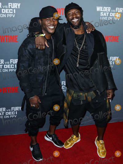 Aldis Hodges Photo - LOS ANGELES CA USA - DECEMBER 01 Edwin Hodge Aldis Hodge at the Showtime PPV Presents Heavyweight Championship Of The World Wilder vs Fury Pre-Event VIP Party held at Staples Center on December 1 2018 in Los Angeles California United States (Photo by Xavier CollinImage Press Agency)