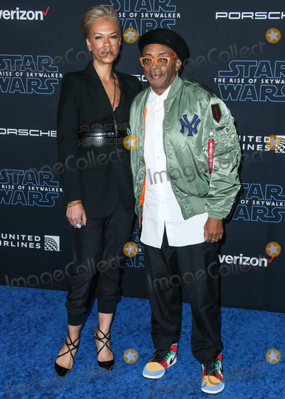 Tonya Lewis Lee Photo - HOLLYWOOD LOS ANGELES CALIFORNIA USA - DECEMBER 16 Tonya Lewis Lee and Spike Lee arrive at the World Premiere Of Disneys Star Wars The Rise Of Skywalker held at the El Capitan Theatre on December 16 2019 in Hollywood Los Angeles California United States (Photo by Xavier CollinImage Press Agency)