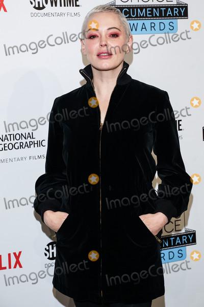 Rose Mc Gowan Photo - BROOKLYN NEW YORK CITY NEW YORK USA - NOVEMBER 10 Actress Rose McGowan arrives at the 4th Annual Critics Choice Documentary Awards held at BRIC on November 10 2019 in Brooklyn New York City New York United States (Photo by William PerezImage Press Agency)