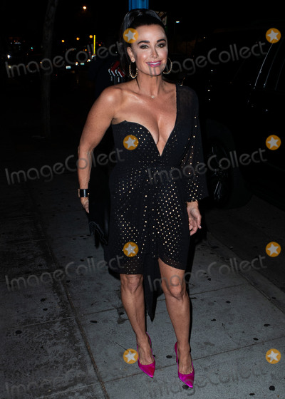 Anastasia Karanikolaou Photo - WEST HOLLYWOOD LOS ANGELES CA USA - SEPTEMBER 27 Kyle Richards seen arriving at the Anastasia Karanikolaou Cosmetics Launch held at Delilah on September 27 2018 in West Hollywood Los Angeles California United States (Photo by Image Press Agency)
