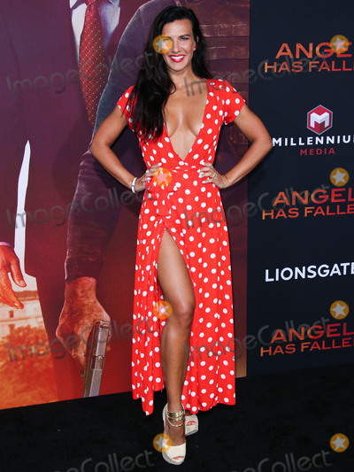 Natalie Burn Photo - WESTWOOD LOS ANGELES CALIFORNIA USA - AUGUST 20 Actress Natalie Burn (Natalia Guslistaya) arrives at the Los Angeles Premiere Of Lionsgates Angel Has Fallen held at the Regency Village Theatre on August 20 2019 in Westwood Los Angeles California United States (Photo by Xavier CollinImage Press Agency)