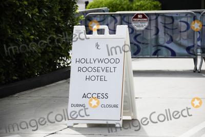Eric Garcetti Photo - HOLLYWOOD LOS ANGELES CALIFORNIA USA - MARCH 31 A view of the Hollywood Roosevelt Hotel on March 31 2020 in Hollywood Los Angeles California United States Los Angeles tourism and entertainment industry businesses are temporarily closed amid the coronavirus COVID-19 pandemic after the Safer at Home order issued by both Los Angeles Mayor Eric Garcetti at the county level and California Governor Gavin Newsom at the state level on Thursday March 19 2020 which will stay in effect until at least April 19 2020 (Photo by Xavier CollinImage Press Agency)