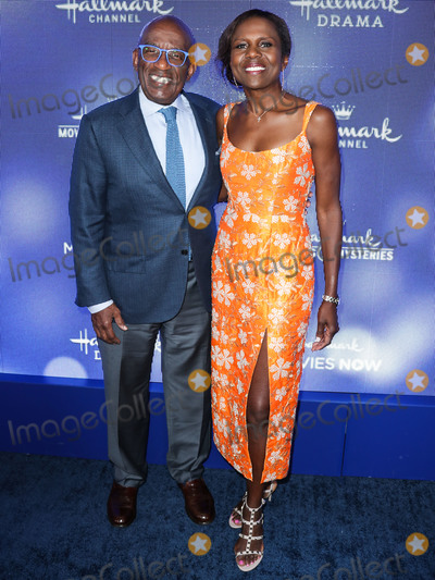 Deborah Roberts Photo - BEVERLY HILLS LOS ANGELES CALIFORNIA USA - JULY 26 Al Roker and Deborah Roberts arrive at the Hallmark Channel And Hallmark Movies And Mysteries Summer 2019 TCA Press Tour Event held at a Private Residence on July 26 2019 in Beverly Hills Los Angeles California United States (Photo by Xavier CollinImage Press Agency)
