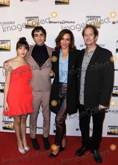 Alex Wolff Photo - HOLLYWOOD LOS ANGELES CA USA - JANUARY 09 Gianna Reisen Alex Wolff and Polly Draper arrive at the 2nd Annual Los Angeles Online Film Critics Society Award Ceremony held at the Taglyan Cultural Complex on January 9 2019 in Hollywood Los Angeles California United States (Photo by David AcostaImage Press Agency)