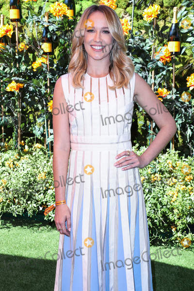Anna Camp Photo - PACIFIC PALISADES LOS ANGELES CALIFORNIA USA - OCTOBER 05 Actress Anna Camp wearing a Lela Rose dress arrives at the 10th Annual Veuve Clicquot Polo Classic Los Angeles held at Will Rogers State Historic Park on October 5 2019 in Pacific Palisades Los Angeles California United States (Photo by Xavier CollinImage Press Agency)