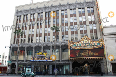 Eric Garcetti Photo - HOLLYWOOD LOS ANGELES CALIFORNIA USA - MARCH 31 A view of the El Capitan Theatre on March 31 2020 in Hollywood Los Angeles California United States Los Angeles tourism and entertainment industry businesses are temporarily closed amid the coronavirus COVID-19 pandemic after the Safer at Home order issued by both Los Angeles Mayor Eric Garcetti at the county level and California Governor Gavin Newsom at the state level on Thursday March 19 2020 which will stay in effect until at least April 19 2020 (Photo by Xavier CollinImage Press Agency)