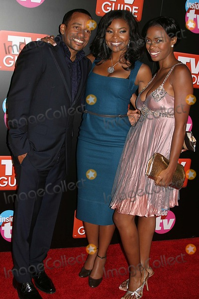 Gabrielle Union Photo - Tv Guide  Inside Tv After Party-red Carpet Hollywood Roosevelt Hotel Hollywood CA 09-18-2005 Photo Clintonhwallace-photomundo-Globe Photos Inc Hill Harper Gabrielle Union and Jill Jones
