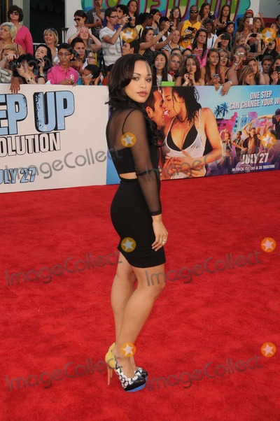 Cleopatra Coleman Photo - Cleopatra Coleman attending the Los Angeles Premiere of Step Up Revolution Held at the Graumans Chinese Theatre in Hollywood California on July 17 2012 Photo by D Long- Globe Photos Inc