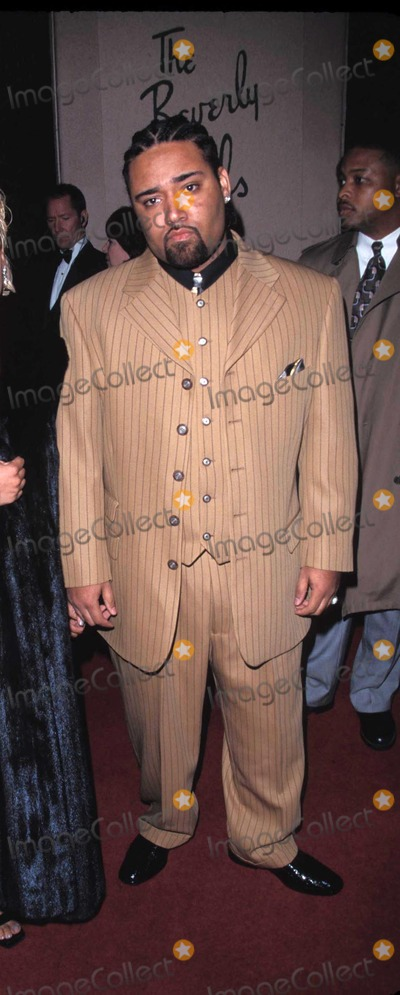Mack 10 Photo - Arista Pre-grammy Party at Beverly Hills Hotel in Los Angeles 02221999 T-boz Tionne Watkins and Husband Photo by Fitzroy BarrettGlobe Photos Inc