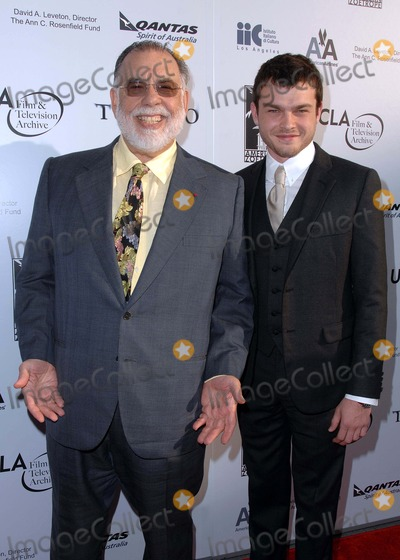 Alden Ehrenreich Photo - Premiere of Francis Ford Coppolas Tetro at the Billy Wilder Theater in Westwood CA 06-03-2009 Photo by James Diddick-Globe Photos  2009 Francis Ford Coppola and Alden Ehrenreich