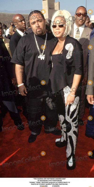 Mack 10 Photo - The Source Hip-hop Music Awards 2000 at Pasadena Civic Auditorium Tionne t-boz Watkins (Pregnant)  Fiance Mack 10 Photo by Fitzroy BarrettGlobe Photos Inc 8-22-2000