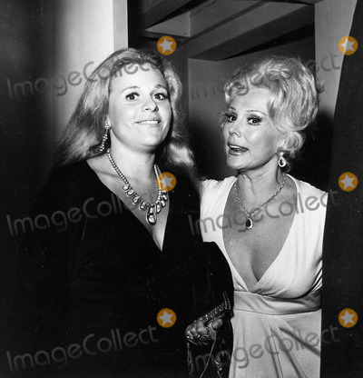 Eva Gabor Photo - Eva Gabor with Daughter Constance Francesca Hilton Supplied by Globe Photos Inc