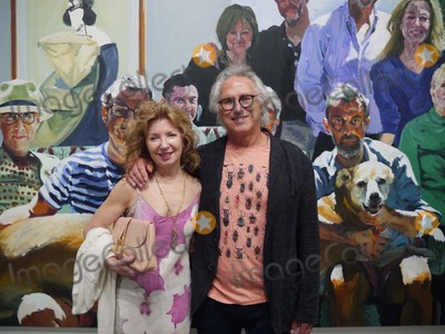 The Beach Boys Photo - April Gornick and Eric Fischl at the Beach Boys Concert at Guild Hall Guild Hall East Hampton NY July 3 2015 Photos by Sonia Moskowitz Globe Photos Inc