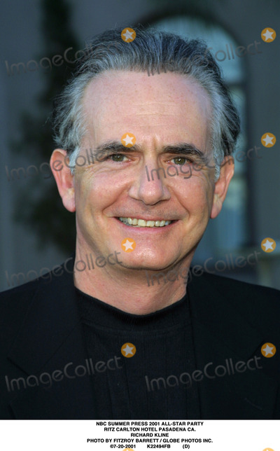 RITZ CARLTON Photo - NBC Summer Press 2001 All-star Party Ritz Carlton Hotel Pasadena CA Richard Kline Photo by Fitzroy Barrett  Globe Photos Inc 7-20-2001 K22494fb (D)