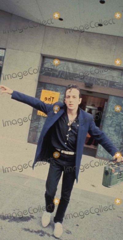 Joe Strummer Photo - the Clash in Vienna Austria 10-1981 Photo by Felix Zeitlhofer-pr-Globe Photos 1177-1 Joe Strummer