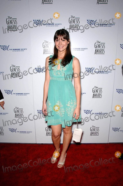 Vanessa Britting Photo - Vanessa Britting During the 22nd Genesis Awards Held at the Beverly Hilton Hotel on March 29 2008 in Beverly Hills California Photo Michael Germana  Superstar Images - Globe Photos