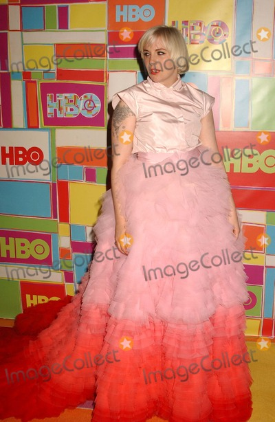 Lena Dunham Photo - Lena Dunham attends the Hbo Emmy Party at the Pacific Design Center in West Lois Angelesca on August 252014 Photo by Phil Roach-ipol-Globe Photos