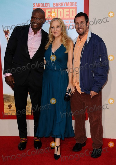 Wendi McLendon Covey Photo - Terry Crews Wendi Mclendon-covey Adam Sandler attending the Los Angeles Premiere of Blended Held at the Tcl Chinese Theatre in Hollywood California on May 21 2014 Photo by D Long- Globe Photos Inc