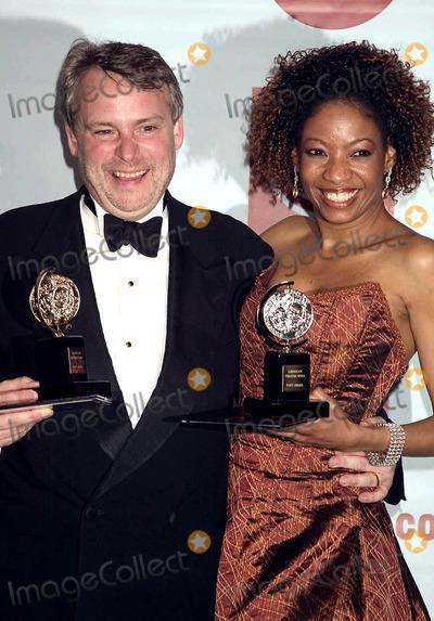 Adriane Lenox Photo - the 2005 Tony Awards (Press Room)at Radio City Music Hall  New York City 6-05-2005 Photo Bysonia Moskowitz-Globe Photos Inc 2005 Doug Hughes and Adriane Lenox