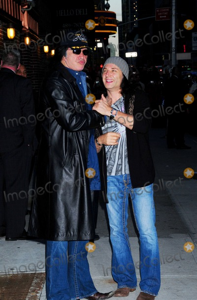Paul Stanley Photo - Gene Simmons and Paul Stanley Outside Late Night with David Letterman Show Ed Sullivan Theater New York City 10-06-2009 Photo by Ken Babolcsay-ipol-Globe Photos Inc
