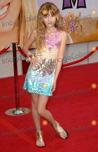 Bella Thorne Photo - Bella Thorne attends the World Premiere of Walt Disney Pictures Hannah Montana the Movie Held at the El Capitan Theatre in Holywood California on 4-02-09 Photo by David Longendyke-Globe Photos Inc 2009