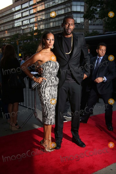 Amare Stoudemire Photo - A Special Screening of the Equalizer Amc Lincoln Square 13 Imax Theater NYC September 22 2014 Photos by Sonia Moskowitz Globe Photos Inc 2014 Amare Stoudemire Alexis Welch