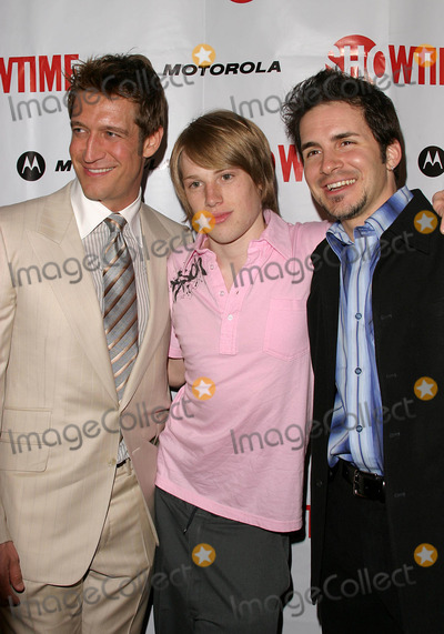 Harris Allen Photo - Queer As Folk Season Four Launch Party at the Regent Theatre in West Hollywood CA 04142004 Photo by Kathryn IndiekGlobe Photos Inc 2004 Robert Gant Harris Allen and Hal Sparks