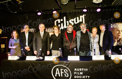Tommy Lee Jones Photo - Variety Magazine Presents Austin Film Society Press Conference 2015 (Left to Right) Rebecca Campbell Steven Gaydos Tommy Lee Jones Bonnie Curtis Guillermo Del Toro Louis Black Particia Arquette and Richard Linklater