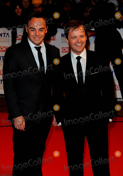 Ant  Dec Photo - Anthony Mcpartlin  Declan Donnelly - Ant  Dec Tv Presenters National Television Awards 2010 O2 Arena London England January 20 2010 Photo by Neil Tingle-allstar-Globe Photos Inc 2010