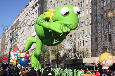 Kermit the Frog Photo - Kermit the Frog at 85th Macys Thanksgiving Day Parade 11-24-2011 Photo by John BarrettGlobe Photos Inc