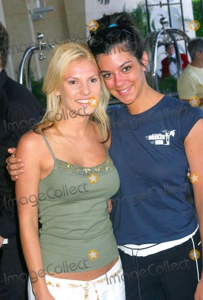 Heidi Strobel Photo - - Cbs 2003 Press Tour - at the Renaissance Hotel Hollywood CA - 07202003 - Photo by Ed Geller  Egi  Globe Photos Inc 2003 - Heidi Strobell and Jenna Moraeca