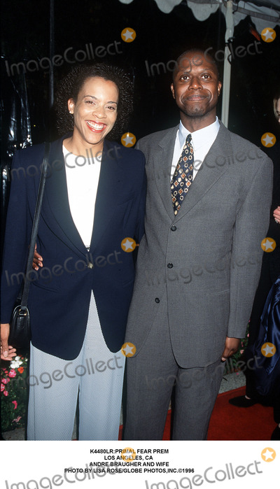 Andre Braugher Photo - primal Fear Prem Los Angeles CA Andre Braugher and Wife Photo by Lisa RoseGlobe Photosinc