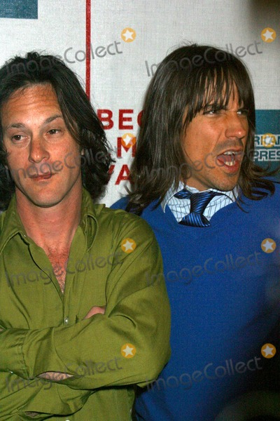 Dick Rude Photo - the 2004 Tribeca Film Festival Premiere of Lets Rock Again at Tribeca Performing Arts Center in New York City 05072004 Photo Rick Mackler Rangefinders Globe Photos Inc 2004 Anthony Kiedis and Dick Rude