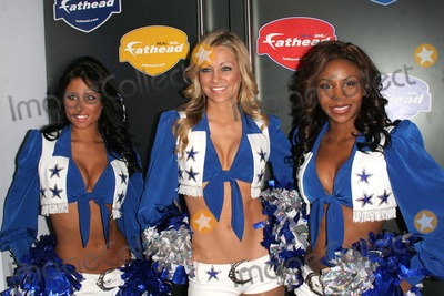 Dallas Cowboys Cheerleaders Photo - The Dallas Cowboy Cheerleaders Host Cocktail Reception to Celebrate the 2007 Nfl Postseason Sponsored by Fatheadcom 4040 Club-nyc- 011107 the Dallas Cowboy Cheerleaders (Group) Photo by John B Zissel-ipol-Globe Photos Inc2007