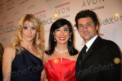 Jillian Dempsey Photo - The Avon Foundation Hope Honors Cipriani 42nd St NYC October 28-08 Photos by Sonia Moskowitz Globe Photos Inc 2008 Andrea Jung with Patrick and Jillian Dempsey