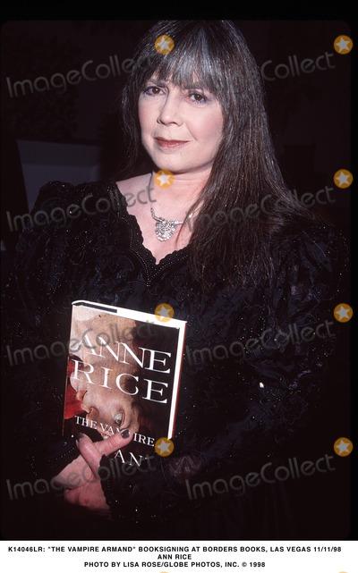 Ann Rice Photo - Anne Rice