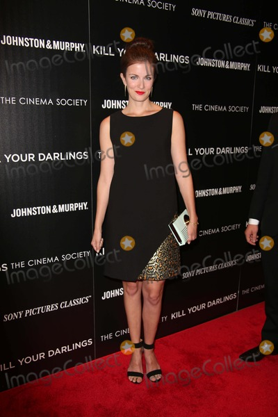 Anna Wood Photo - The Cinema Society Withjohnston and Murphy Present a Screening of Sony Pictures Classics Kill Your Darlings the Paris Theater NYC September 30 2013 Photos by Sonia Moskowitz Globe Photos Inc 2013 Anna Wood