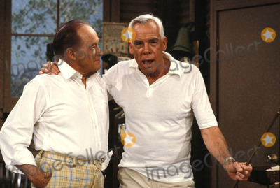 Lee Marvin Photo - Bob Hope and Lee Marvin Photo by Alan S Adler-ipol-Globe Photos Inc