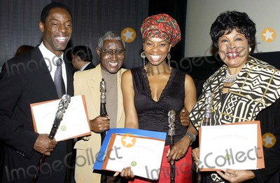 Herb Jeffries Photo - NIGHT OF TRIBUTE WAS HELD AT THE MAGIC JOHNSON THEATRE ON FEBRUARY 12 2005 BABU OFFICIATED THE EVENT AWARDEES OSCAR BROWN JR LIFETIME AWARDBILL JONES PIONEER AWARD  CONGRESSWOMAN DIANE WATSON DIVERSITY AWARD ISAIAH WASHINGTON CANADA LEE AWARD HERB JEFFRIES LIFETIME AWARDAND VANESSA WILLIAMS BEAH RICHARDS AWARDSBILL JONES VANESSA WILLIAMS AND ISAIAH WASHINGTON CONGRESSWOMAN DIANE WATSON PHOTO BY VALERIE GOODLOE-GLOBE PHOTOSINCK41742VG