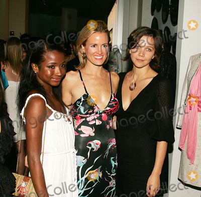 Holly Dunlap Photo - Maurice Villency Hosts Soirre to Celebrate Hollywoods Cruise Collection at the Maurice Villency Flagship Store in New York City 6-14-2005 Photo Byrick Mackler-rangefinders-Globe Photos Inc 2005 Genevieve Jones  Holly Dunlap and Maggie Gyllenhaal