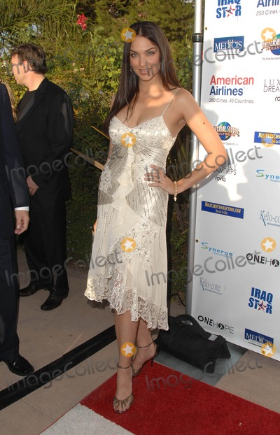 Blanca Soto Photo - a Night of Honor Fundraising Gala Event Benefitting the Iraq Star Foundation at the Universal City Hilton in Universal City CA 10-04-2009 Photo by Scott Kirkland-Globe Photos  2009 Blanca Soto
