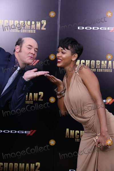 Meagan Good Photo - The Us Premiere of Anchorman 2the Legend Continues the Beacon Theater NYC December 15 2013 Photos by Sonia Moskowitz Globe Photos Inc 2013 David Koechner Meagan Good