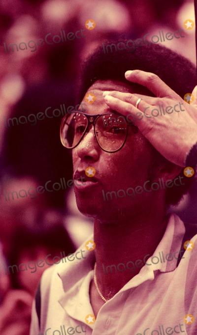 Arthur Ash Photo - Photo Jackie Giroux Globe Photos Inc 1978 Arthur Ashe
