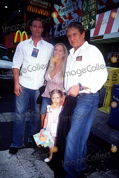 Tom Berenger Photo - Sd0819 Cattle Drive in Times Square to Promote Johnson County War a Four Hour Epic Western Which Will Premiere on the Hallmark Channel on August 24th Times Squarenyc Tom Berenger and Family Photopaul SchmulbachGlobe Photos Inc