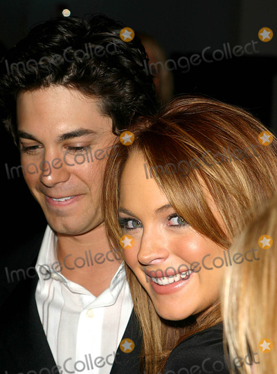 Adam Garcia Photo - Premiere of Confessions of a Teenage Drama Queen at the E-walk Theater  New York City 02172004 Photo by John B ZisselipolGlobe Photosinc Adam Garcia_lindsay Lohan