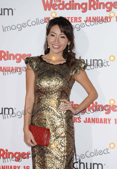Amy Haruna Photo - Amy Haruna attending the Los Angeles Premiere of the Wedding Ringer Held at the Tcl Chinese Theatre in Hollywood California on January 6 2015 Photo by D Long- Globe Photos Inc