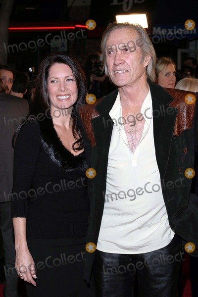 Annie Bierman Photo - 12303 the Lord of the Ringsthe Return of the King Premiere at Mann Village Theatre Westwood CA David Carradine  Annie Bierman Photo by Tom RodriguezGlobe Photos Inc